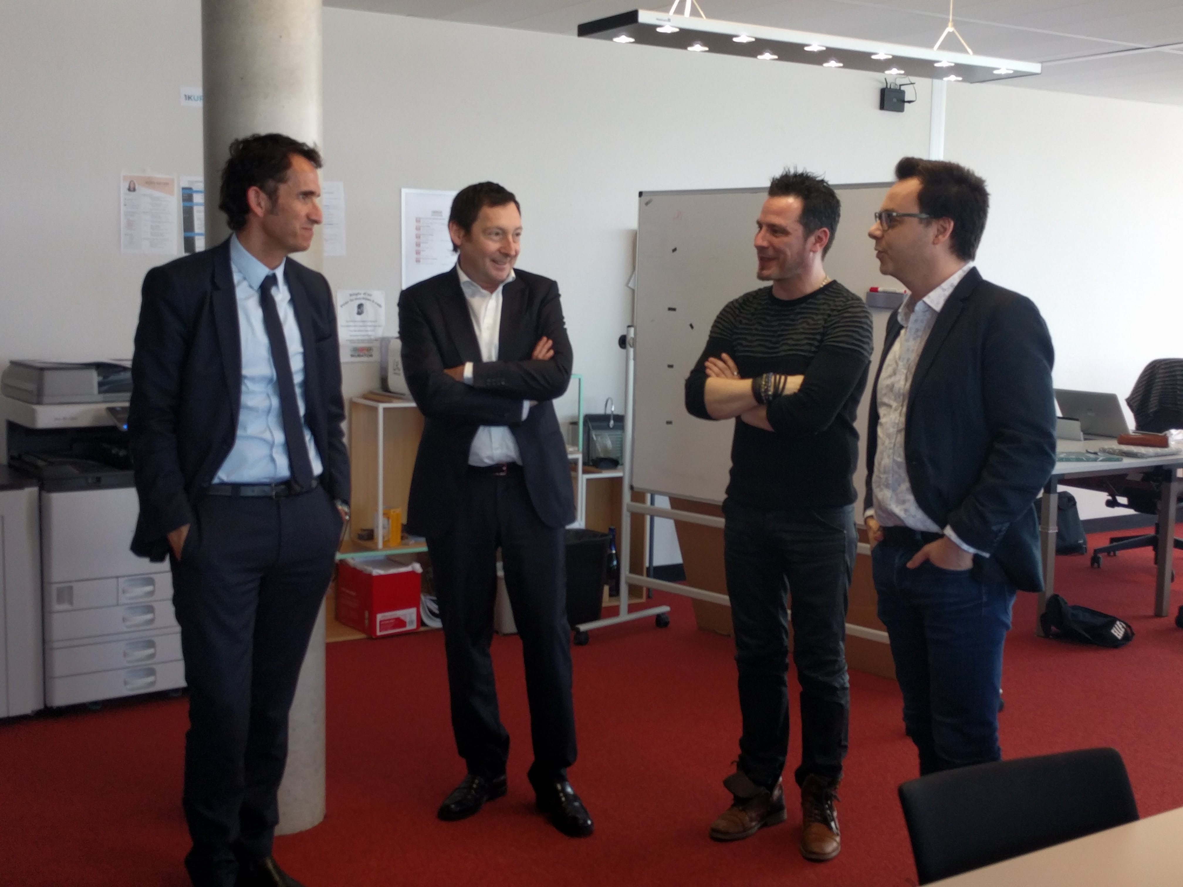 Mobibot startup Théophraste